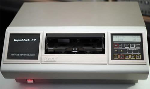 Nettoyage K7 VHS et S-VHS
