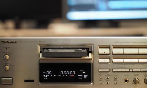 Transfert de Cassettes DAT