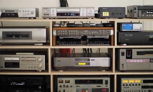 Matériels de numérisation et de transfert audiovisuel