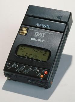 Enregistreur DAT portable grand public Sony