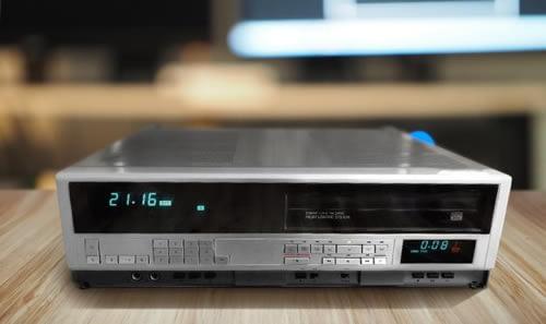 Numérisation et le transfert de vos cassettes V2000