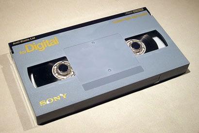 Numérisation de k7 Digital Betacam