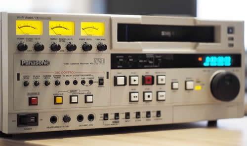 Numérisation de Cassette VHS, VHS-C, S-VHS, SVHS-C, DVHS