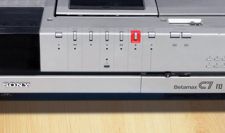 Numérisation des cassettes vidéo betamax sur dvd et clé usb