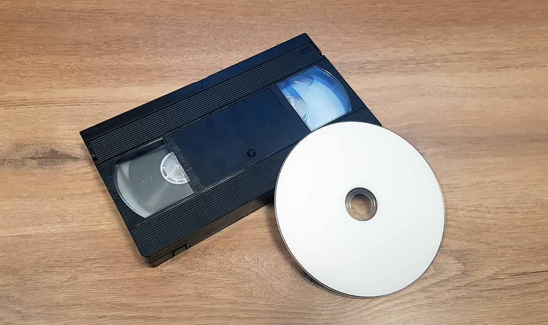 Vhs sur DVD, Vhs-c sur DVD
