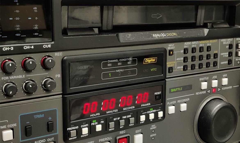risation de cassette Betacam à Paris