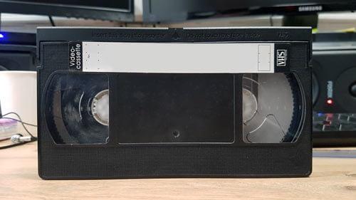 Nettoyage moisissure bande cassette vhs