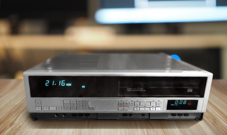 Numérisation des k7 vidéo V2000 sur dvd à Paris