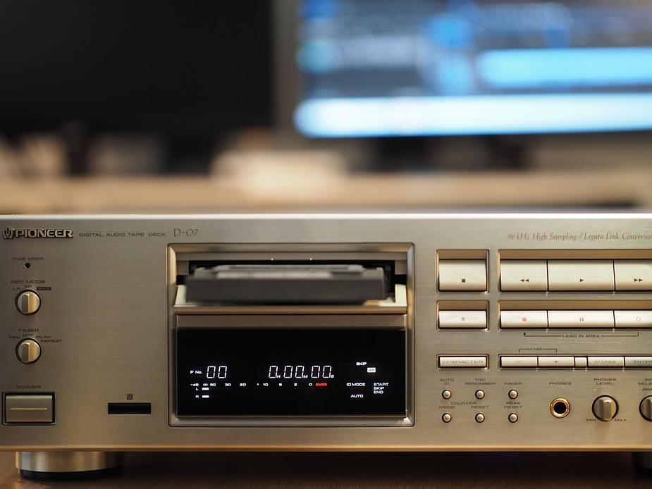 Platine cassette DAT Pioneer-D-07