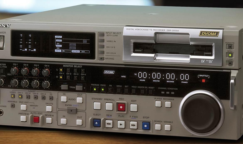 Numérisation de cassette DVcam à Paris