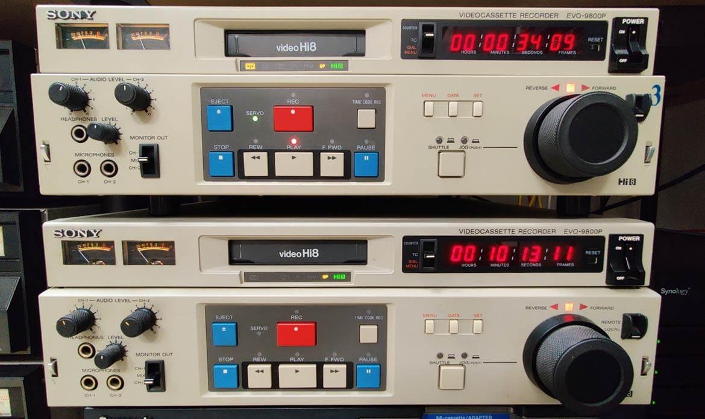 numérisation cassette hi8 à paris