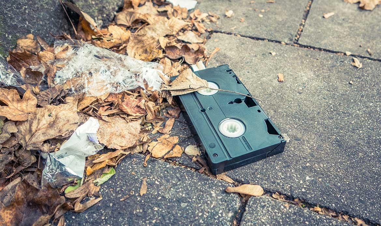 Où jeter ses vieilles cassettes video ?