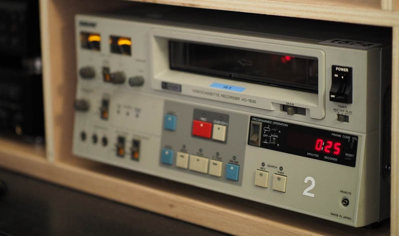 Transfert de cassette BVU UMATIC à Paris