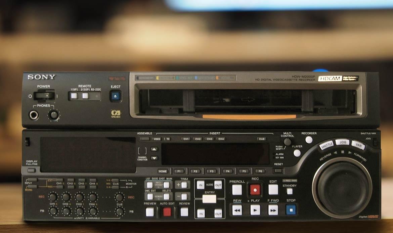 Numérisation de cassette HDCAM à Paris
