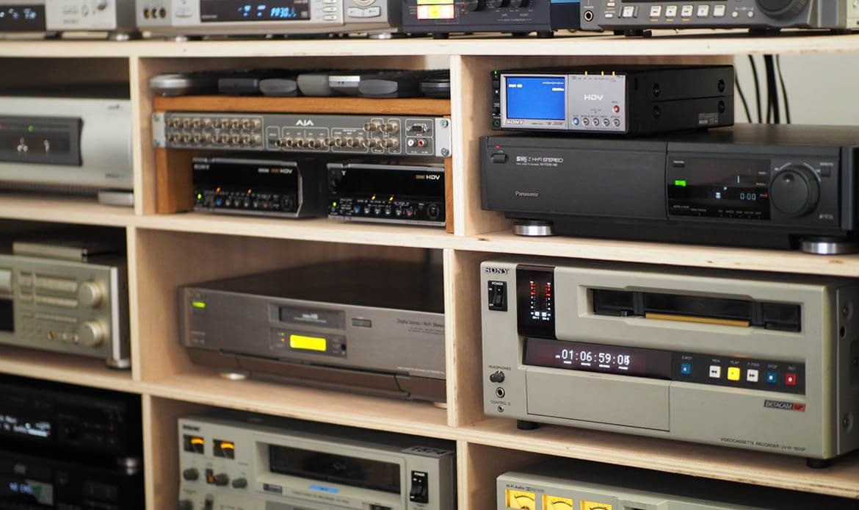 transfert numérisation de cassette vidéo Paris