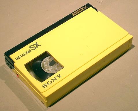 Cassette Betacam SX