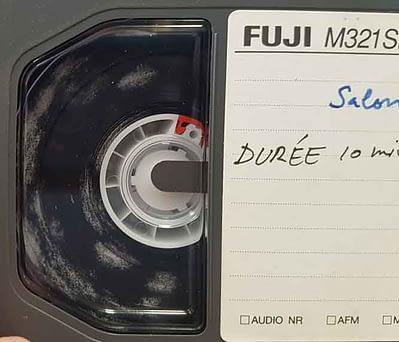 Nettoyage moisissure cassette vhs