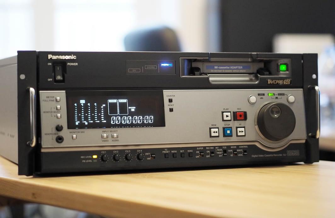 Numérisation cassette Dvcpro à Paris