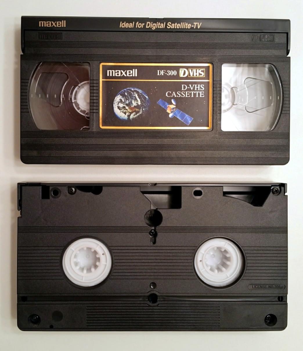 Cassette D-VHS (digital VHS)