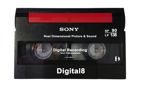 Cassette Digital 8