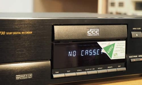 Transfert de Cassettes DCC