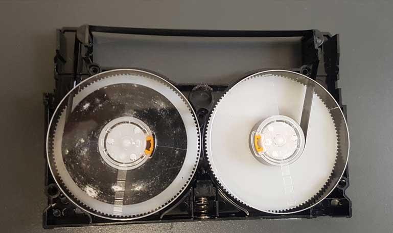 Nettoyage des bandes 8, hi8 et digital 8